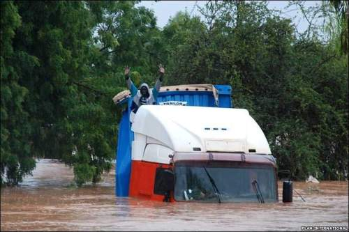 Flooding in Burkina Faso