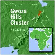 Gwoza Hills map