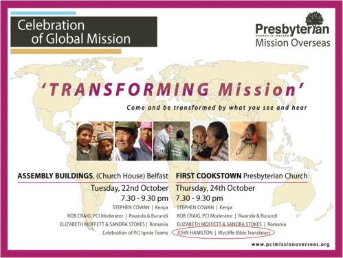 PCI Transforming Mission