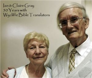 Ian and Claire Gray