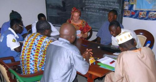Translation workshop on Ebola posters