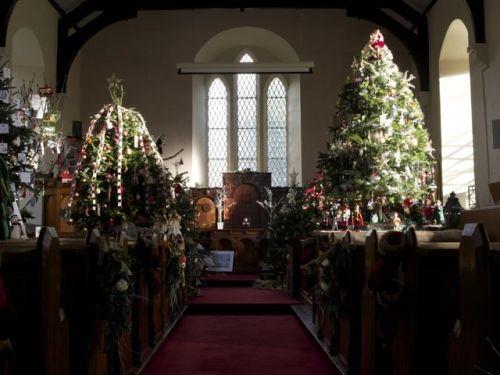 Desertcreat Parish Christmas tree festival 2014