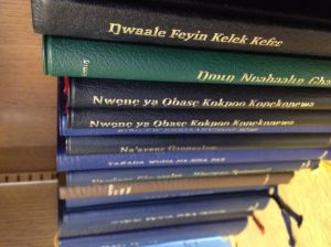 Some New Testaments from around the world