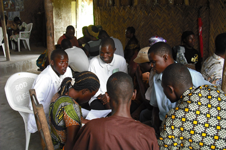 Oral Bible storying workshop in Liberia