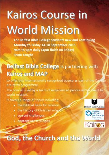 BBC one week Sep15 Kairos flyer