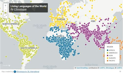 Living languages of the world